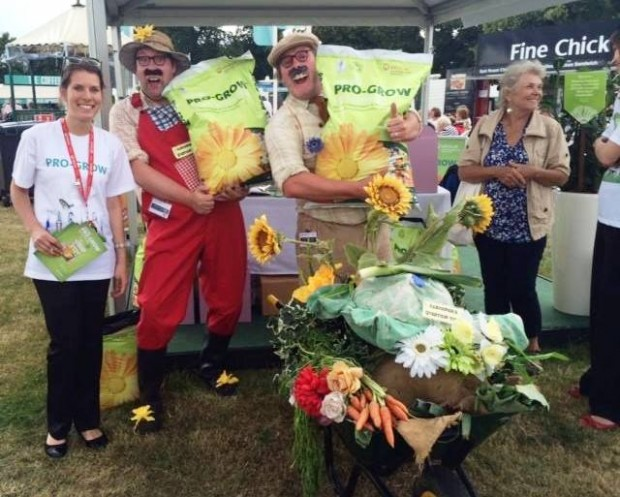 Pro-Grow exhibiting at RHS Hampton Court