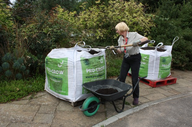 Pro-Grow for the RHS horticultural training at the Ryton Organic Gardens!